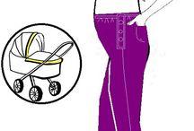 střihy pro těhotné
