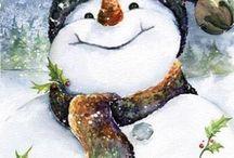 Boże Narodzenie, decoupage / Boże Narodzenie dwcoupage