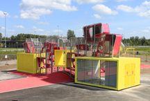 Architectural playground