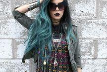 cabellos de colores ♡