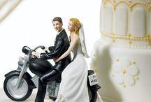 結婚式 バイク