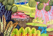 schilderijen natuur