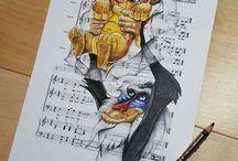 Music + art