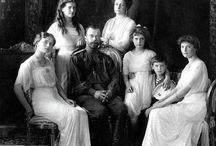 II. Miklós orosz cár és családja