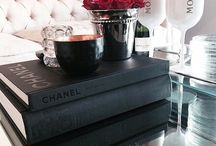 Coffee table vignettes