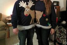 """DIY Ugly Christmas Sweater Ideas / With a good DIY ugly Christmas sweater up your """"sleeves,"""" holiday fun is sure to follow!"""