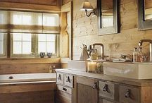 LakeHouse Master Bath/Closet/Laundry / by Kari Clevinger