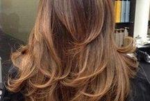Long hair with layers / Haircuts