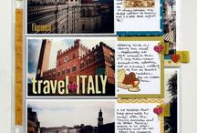 Travel scrapbooking