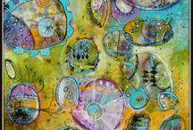 Art Journal inspirasjon / Ting som inspirerer meg til eget arbeid.