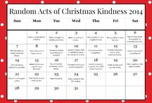 Christmas Random Kindness and Advent Activities