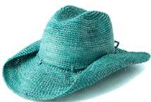 Cowboy crochet hats