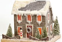 IT TAKES A VILLAGE / Christmas houses / by Susan Harris Seeley