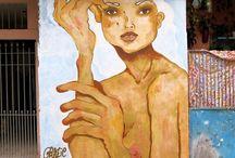 Grazie Gra / Visual Artist. This is my personal page in pinterest. Welcome! . Facebook: https://www.facebook.com/gragrazie Instagram: @grazie_  and @actomasproject Snap: @grazie_ Flickr: https://www.flickr.com/photos/graziegra/ Tumblr: grazieart Wordpress: Grazie Gra Blogger: http://graziegra.blogspot.com.br/2016/01/graffiti-and-urban-art.html