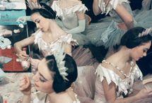 at the ballet...... / by Mary Ann Aparecida