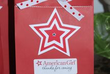 American Girl Bday party
