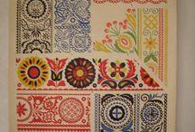 české a slovenské tradiční ornamenty