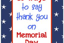 Celebrate the Home of the Brave / Fun ideas for celebrating Memorial Day, Veterans Day, Fourth of July, and military homecomings. / by SheerID
