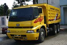 T BMC TRUCKS / Trucks of the brand BMC.