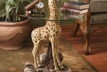 ****AFRICAN-SAFARI-DECOR**** / THANK U  4 not over pinning / by LOIS