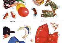 Paper doll /Påklædningsdukke