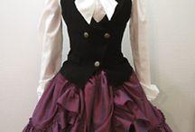cosplay, dresses