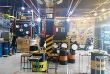my project / #drums #recycle #industrialcafe