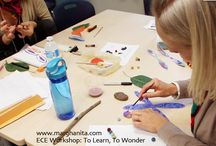 Early Childhood Education: Nature Art / How to actively engage children in nature through ART