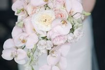 cascading bouquets are back / Contemporary ideas for cascading bouquets with a modern look, for this revived style that was very popular for weddings in the 1920s-30s, again in the 70s and 80s, and now is big again in 2015.