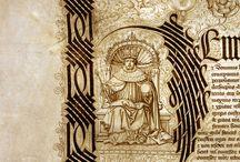 Calligraphy & iluminated manuscript