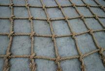 Netting knots