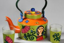 "HAND PAINTED Quirky and colorful Home decor cum Utility gifts / ""A Krazy Mug"" is a designer brand where you will find novelty gift items that are funky, quirky and classy. These hand painted utility cum home décor artifacts can be customized with reference to colour, theme, design, logo, brand name etc. (All our products are food safe and child safe, as these are designed with non toxic materials)"