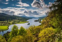 The Queens View Pitlochry / A short drive from Derrybeg B&B Pitlochry, lies the Queen's View. This famous vantage point looks out over one of the most iconic panoramas in Scotland,