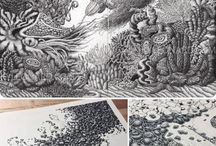 Stippling/Crosshatching/Ink