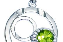 Peridot Gemstone Jewelry