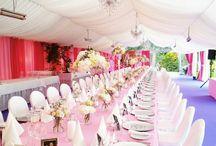 Heiraten in Pink und Rosa / Wunderschöne Hochzeit mit Trauung in Maria Wörth am Wörthersee. Wir haben die Gesamte Ausstattung für Ihre Feier.