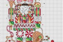 CHRISMAS CROSS STITCH