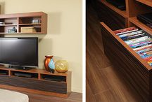 Home Theaters, Media Centers, & Entertainment Centers