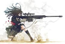 Girls with weapons