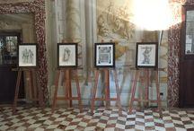 Le arti dimenticate. Miniatura e pittura su vetro / #mostra #arte #PalazzoSansedoni #palio2015 #Siena #FrancescoMori