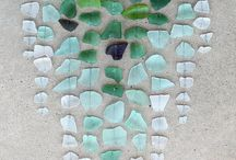 Sea Glass & Driftwood