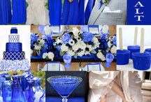 Cobalt Blue Weddings