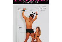 Amarras e Mordaças / Sadomasoquismo e sexo são combinações perfeitas, para realizar este fetiche  é necessário alguns acessórios como a mordaça e as amarras.