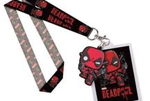 Keychains & Lanyards / Comics, anime, TV, movies, cartoon and pop culture keychains and lanyards.