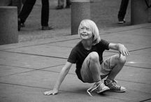 Street photography / Photographie de rue, portrait en noir et blanc