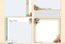 My favourite kits, templates, layouts and other digiscrap stuff