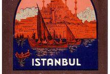 Carteles o ilustraciones de Estambul / Carteles o ilustraciones de Estambul