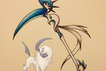 weapon/a/ pokemon DARK type / Absol