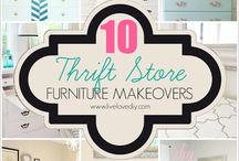 Thrift find makeovers