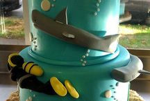 Two tier ocean cake / Cakes